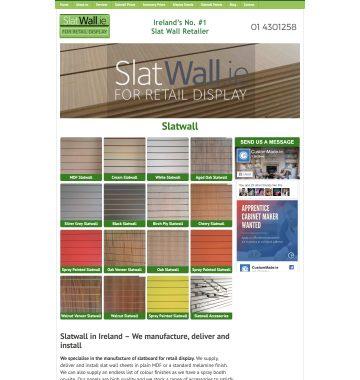 Slat Wall